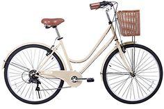 Gama Bikes Women's City Basic 26 Step Thru 6 Speed Shimano Hybrid Urban Commuter Road Bicycle, Wheel Size (26-Inch), Beige Gama Bikes http://www.amazon.com/dp/B00QHVJRZA/ref=cm_sw_r_pi_dp_7MYQvb17H0B1D