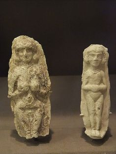 Amorite Ceramic Plaques depicting women Isin-Larsa Period Mesopotamia (Iraq) 2000-1800 BCE