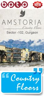 BPTP amstoria plots residential project in Gurgaon Sector 102 offering new plots with luxury specification and amenities at very attractive price points.