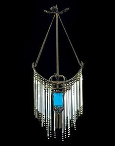 Hector guimard table lamp c 1900 10 art nouveau pieces c1900 hector guimard designed hanging light this looks like a very elaborate piece of aloadofball Image collections