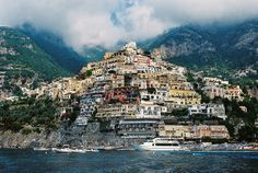 Shooting Film: Positano, One of the Most Beautiful Villages, by Film Photos