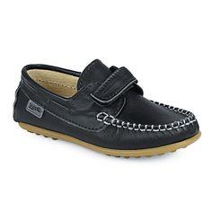 ed4263a7d0 Loafer δερμάτινα με αυτοκόλλητο - Παιδικά casual loafer από γνήσιο δέρμα