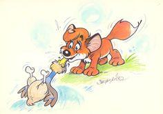 Foxes, Attila, Fox