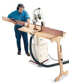 Bandsaw Table System - Popular Woodworking Magazine