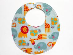 Baby Bibs four soft layers reversible grey with by PinkgrammieBibs