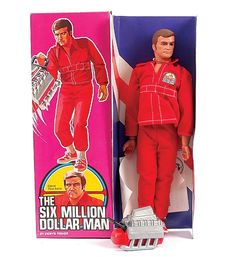 "six million dollar man action figure | 2546: Denys Fisher ""Six Million Dollar Man"" Figure"