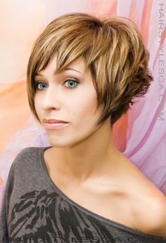 Short haircuts are stylish and sexy