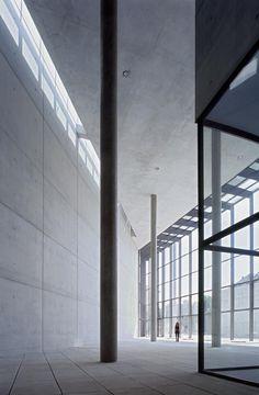 Pinakothek der Moderne, Munich  Architect: Stephan Braunfels, Munich