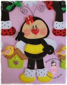Kids Crafts, Map Crafts, Diy And Crafts, Arts And Crafts, Felt Animal Patterns, Stuffed Animal Patterns, Safari Decorations, Christmas Window Decorations, Bee Movie