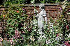 beautiful english gardens | ... , climbing hydrangea, and pillar roses in this formal English garden