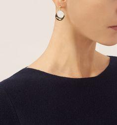 Cream Posey Earrings | Jewellery | Accessories | Hobbs