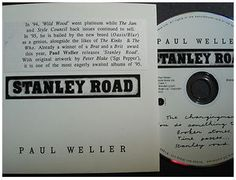 At £24.75  http://www.ebay.co.uk/itm/Paul-Weller-Stanley-Road-5-PROMO-5-Track-Cd-Stunning-Con-Anglo-Plugging-Ex-Co-/261106485692