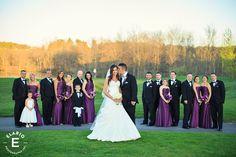 purple bridesmaids dress #weddings #purplebridesmaiddress
