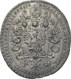Pieczęć Michała Hieronima Radziwiłła.XVIIIw.