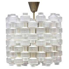 Carl Fagerlund glass chandelier