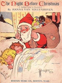 the night before christmas sheet music by hanna van vollenhoven drayton famous for creating the campbells soup kids