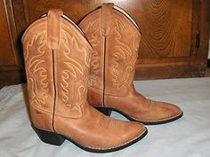 Toddler Boys Cowboy Boots | Old West Kids Boys Youth Cowboy Western Boots Size 3 | eBay