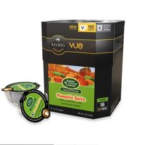 Vue™ 16-Count Green Mountain Coffee® Pumpkin Spice Coffee for Keurig® Brewers #GreenMountainCoffee