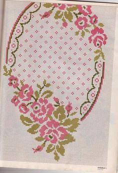 Table Runners - Majida Awashreh - Λευκώματα Iστού Picasa Cross Stitch Cushion, Tablerunners, Stitch 2, Filet Crochet, Cushion Covers, Cross Stitch Patterns, Needlework, Diy And Crafts, Tapestry