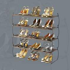 Platinum Carrie Stacking Shoe Shelf by Umbra® | $24.99