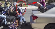 When This Group Of Bikers Approached A Terrified Teenage Girl, I Almost Faint! But You Will Be Surprised On What They Did!