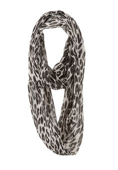 Animal Print Infinity Scarf (original price, $14) available at #Maurices