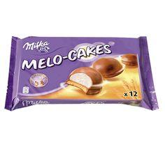 Milka - Milka Melo-Cakes Milka Chocolate, Dairy Milk Chocolate, Chocolate Pancakes, Chocolate Lava Cake, Lava Cake Recipes, Lava Cakes, Snack Recipes, Bubble Gum Flavor, Junk Food Snacks