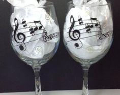 Beach Wine Glasses Set of four