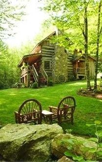 Sleepy Creek-Antique Log Cabin on Beautiful...