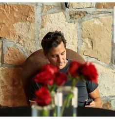 This picture stopped me in my tracks. Breathtakingly beautiful. Henry Ian Cusick  Marcus Kane