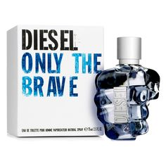 Let the original Men's Perfume Only The Brave Diesel EDT surprise you and define your personality using this exclusive men's perfume with a unique, personal perfume. Discover the original Diesel products! Brave, Diesel Perfume, The Perfume Shop, Perfume Store, Perfume Lady Million, Perfume Versace, Perfume Calvin Klein, Cologne Spray, Men's Cologne