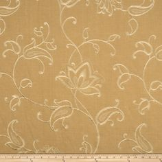 Fabricut Maple Lake Linen Blend Camel