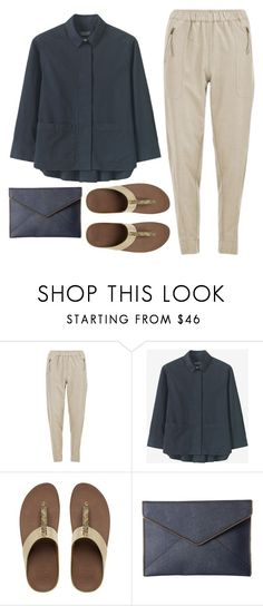 """""""Casual Encounters with The Crush"""" by sweet-jolly-looks ❤ liked on Polyvore featuring Vero Moda, Toast, FitFlop, Rebecca Minkoff, casual, simple and fitflops"""