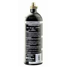 Guerrilla Air 20oz Co2 Paintball Tank. Available at UltimatePaintball.com