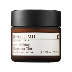 Perricone MD Face Finishing Moisturizer Tint-A luxurious, antioxidant-rich tinted moisturizer designed to deliver instant hydration and corrective nutrients to the skin with the added benefits of SPF 30. #sephora