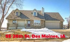 SE 26th St - Des Moines, IA - 50320 | Single-Family Home | 3 Bed | 3 Bath | 1650 sqft | Built 1995 | Listing price $212,900 | Qualify and Own this House w/  $12774.00  towards your Closing Cost w/ our Assist Program, $7452/down  and  $1147/month | call/text  (973) 750-8236  | #IA @ http://on.fb.me/1MdzqeK | Near the lake, 1.5 story w/3 large bedrooms, 3 baths, 2 car garage & finished basement providing 2600 professional finished living space!!