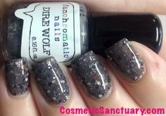 Dire Wolf Nail Polish  grey lacquer with by FanchromaticNails, $8.75