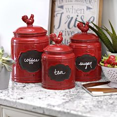 Looking For A Cookie Jar Or A Kitchen Canister Set? Kirklandu0027s Carries A  Wide Variety