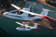ICON A5 Light Sport aircraft #icona5 #airplane #aircraft #icon