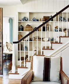 Stylish staircases - Coastal Living House tour image