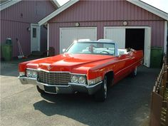 1969 Cadillac Coupe DeVille Convertible