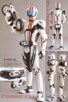 Detail Of Heroes: Kamen Rider Mach & Machine Chaser - JEFusion