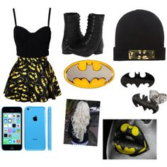 Batman <3, created by harrylover36 on Polyvore