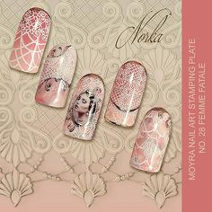 Shop the new @moyou_london plates at beautometry.com! @Regrann from @moyra_nailpolish -  Nail design with Moyra Nail Art Stamping plate No. 28 Femme Fatale  #moyra #nailart #stamping #plate #koromnyomda #femmefatale #rose #beautometry#beautyonabudget #nailsofig #ignails #polishpromote #Moyrastampingplate #stampingnailart #nailart #stamping #stampingmani #instanails #bbloggers #beautybloggers