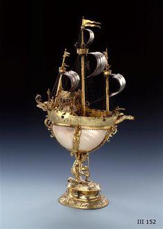 Segelschiff als Trinkgefäß