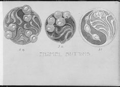 Album with Designs for Art Nouveau Jewelry