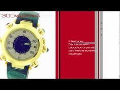 Pasha de #Cartier Golf 1990 Stroke Counter 18K Yellow Gold #Watch