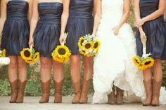 I want this as my wedding colors. I like this so much better than the camo and orange!