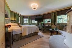 Hotel Review Unterschwarzachhof: 4*s in Saalbach Hinterglemm Das Hotel, Salzburg, Hotel Reviews, Best Hotels, Austria, Chill, Curtains, Bed, Furniture