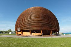 The Hadron Collider is the world's largest and highest-energy particle accelerator. It was built by the European Organization for Nuclear Research (CERN), to allow physicists to test different physics theories. Physics Laws, Physics Theories, Nuclear Physics, Particle Accelerator, Large Hadron Collider, Normal House, Higgs Boson, Unusual Homes, Geodesic Dome